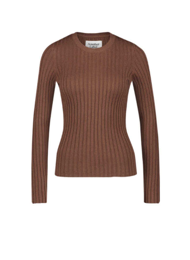 Another Label - Dena Knitted - Chocolate Brown