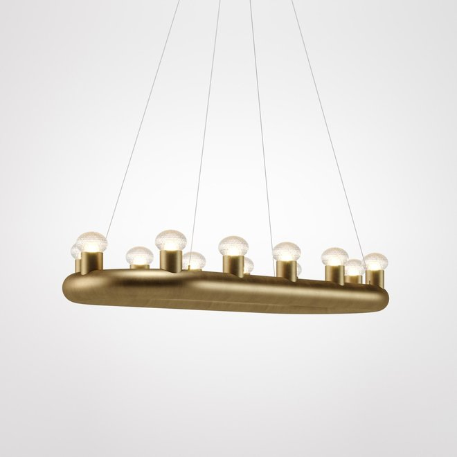 Hanglamp Kingdom - Large bruin/goud