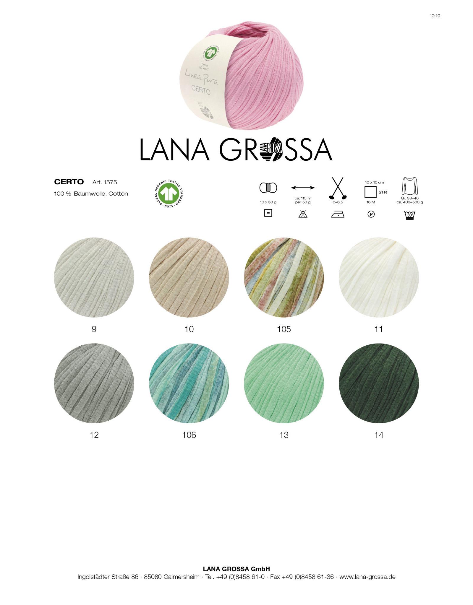 Lana Grossa Linea Pura Certo Print GOTS - 115 m - 50 g