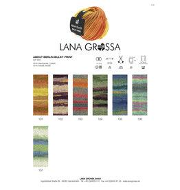 Lana Grossa About Berlin Bulky Print - 50 g