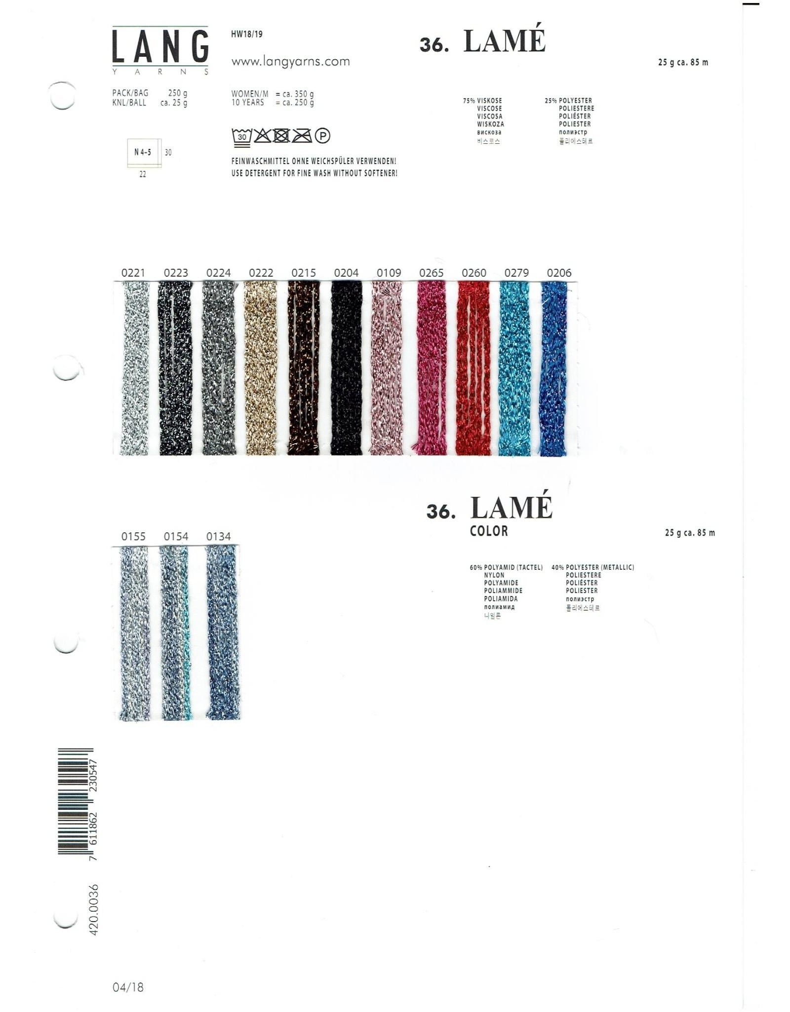 Lang Lamé van Lang Yarns - 85 m - 25 g