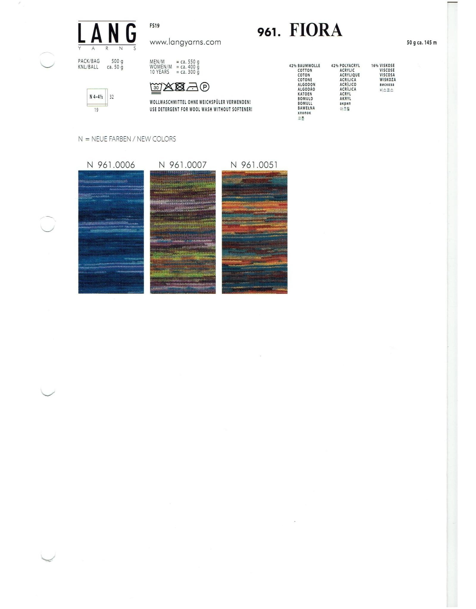 Lang Fiora van Lang Yarns - 146 m - 50 g