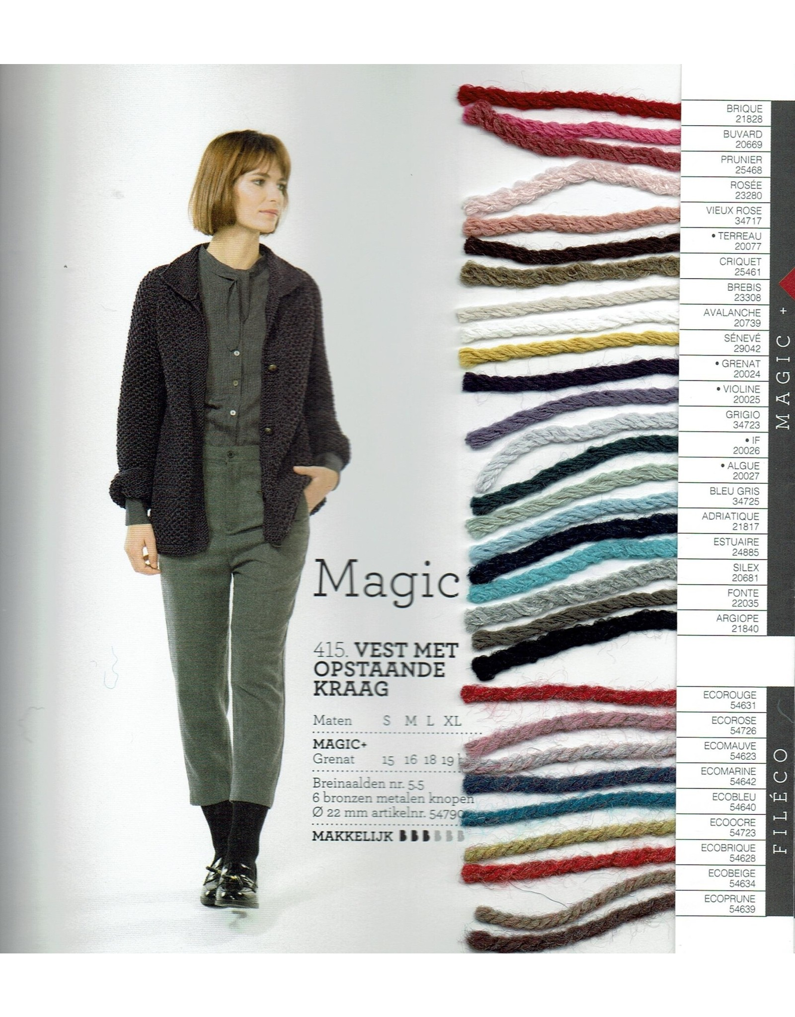 Bergère de France Magic+ van Bergère de France - 80 m - 50 g