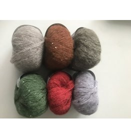 Lana Grossa Lace Paillettes - 25 g