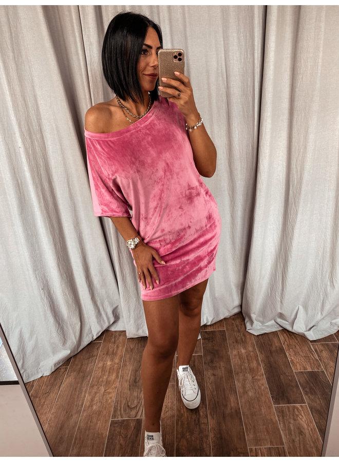 Velvet jurk