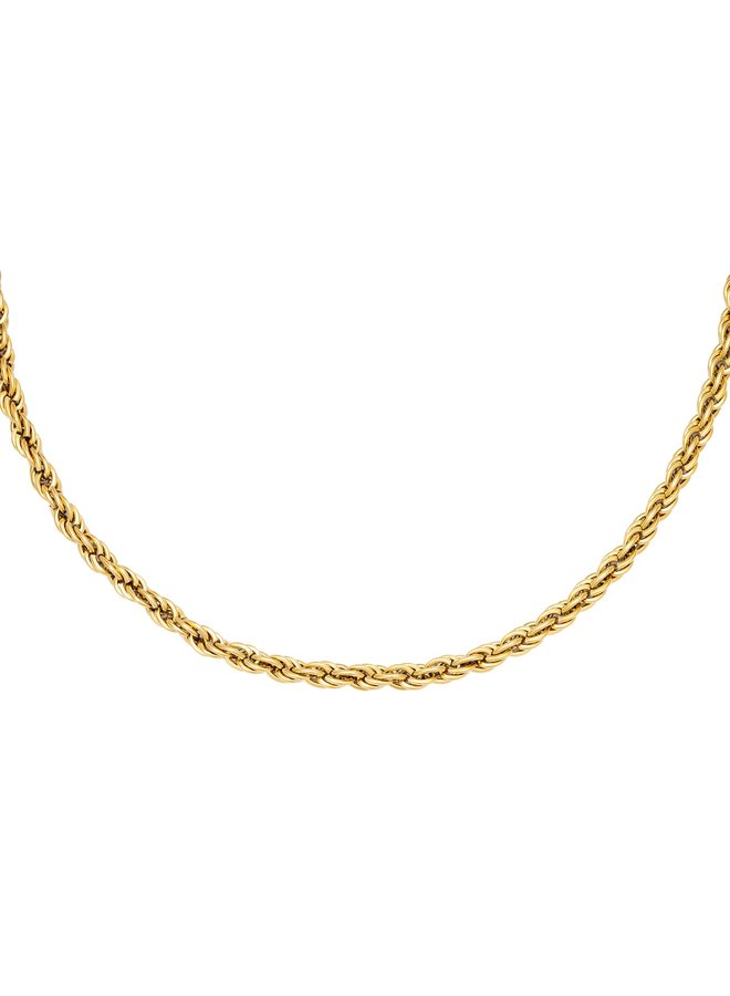Necklace - Twisted chain