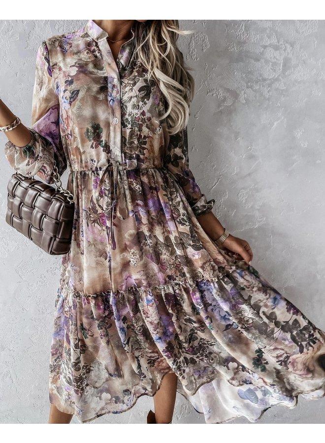 Fall flower dress