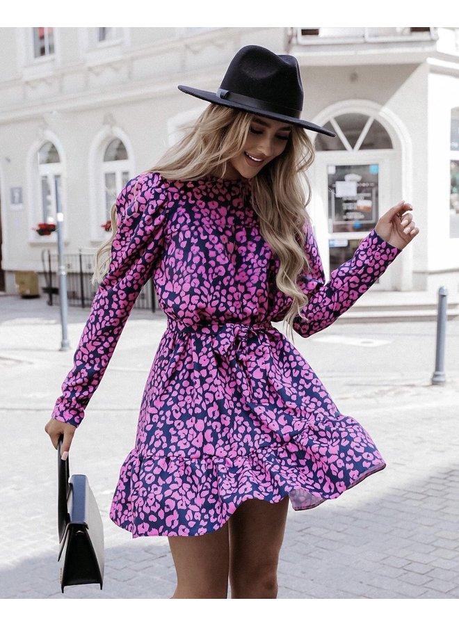 Pink Leo dress