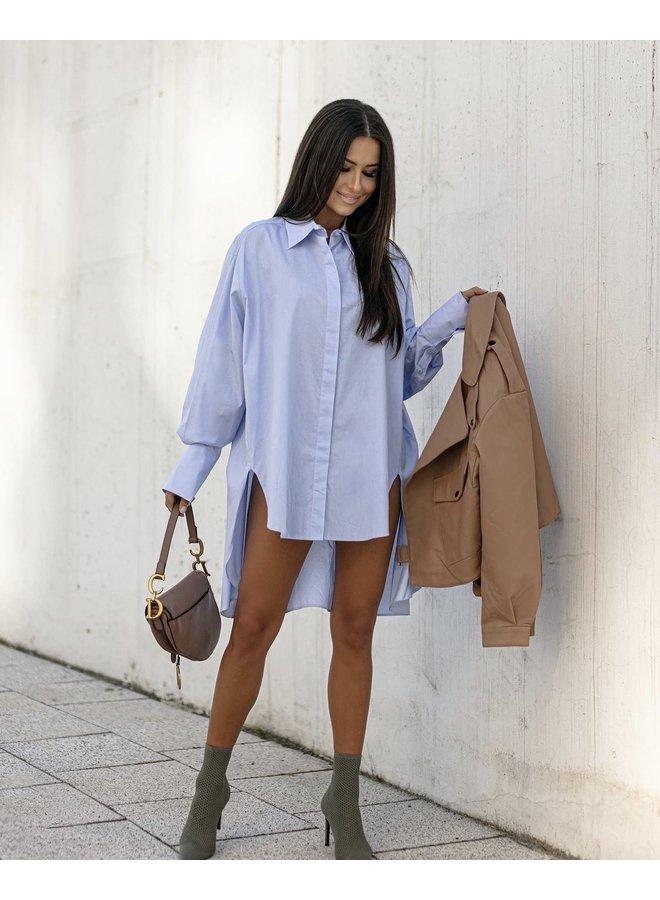 Classic blouse oversized