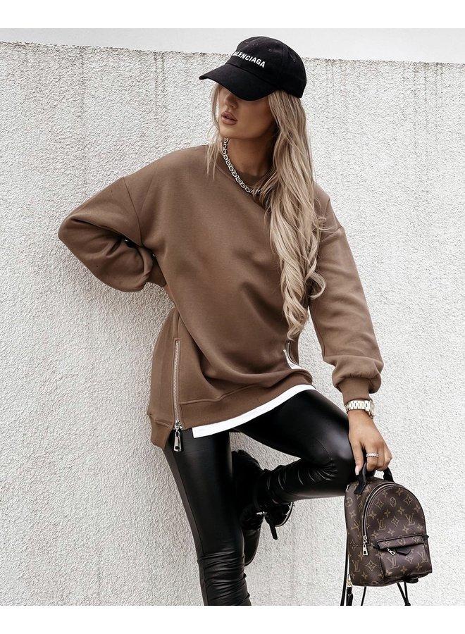 Oversized copine sweater