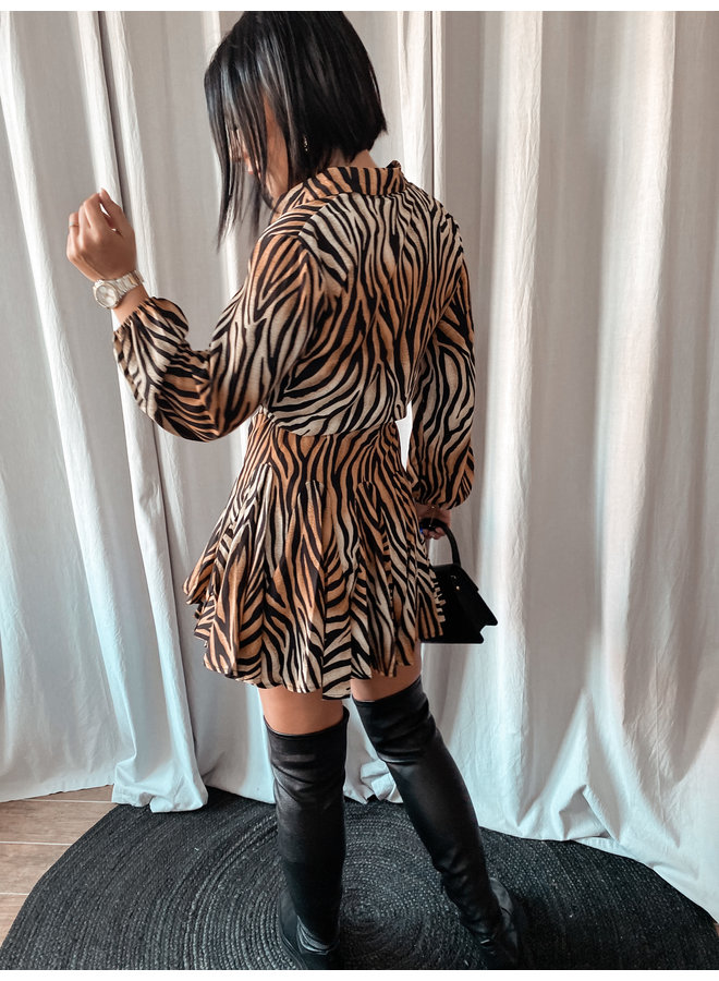 Dora zebra dress