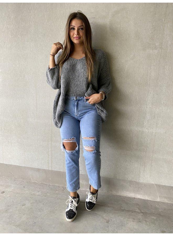 Knitwear oversized