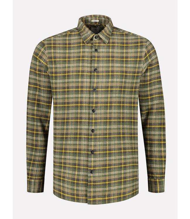 Dstrezzed Overhemd geruit Legergroen