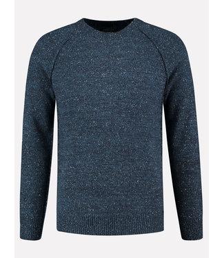 Dstrezzed Gebreide trui Donkerblauw