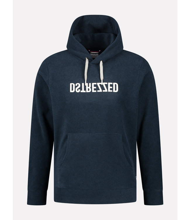 Dstrezzed Logo hoodie Donkerblauw