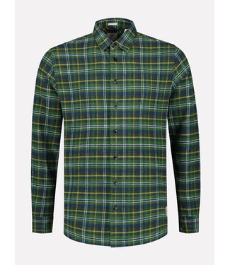 Dstrezzed Overhemd geruit donkergroen