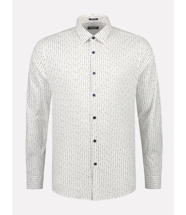 Dstrezzed Overhemd gestreept wit
