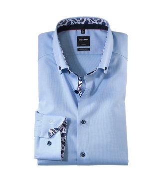 Olymp Modern Fit Overhemd Lichtblauw, 13686412