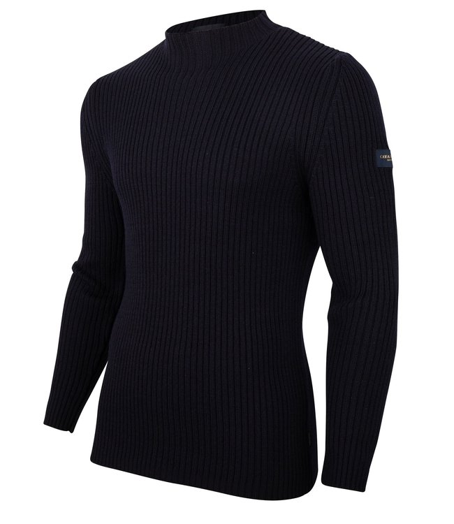 Cavallaro Napoli Bastone trui Donkerblauw