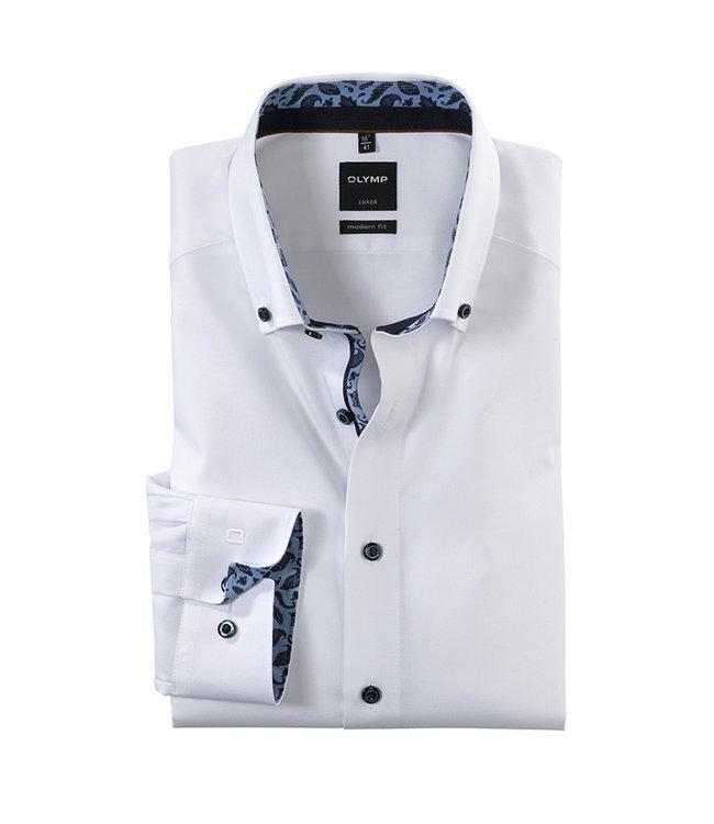 Olymp Modern Fit Overhemd Wit, 13686400