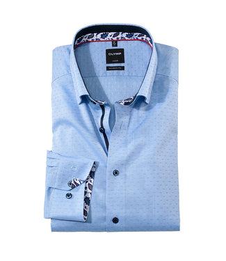 Olymp Modern Fit Overhemd Lichtblauw, 13706411