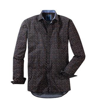 Olymp Casual, Shirt Navy Blad, 40006418