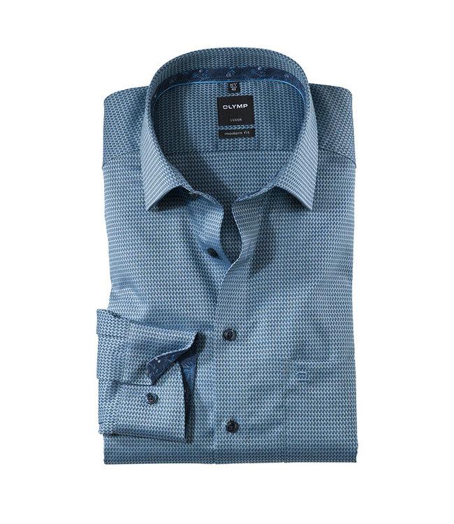 Olymp Modern Fit Overhemd Blauw, 12546418