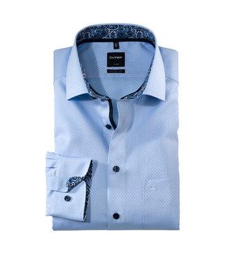 Olymp Modern Fit Overhemd Lichtblauw, 13246411