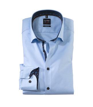 Olymp Body Fit, Overhemd Lichtblauw, 21426412