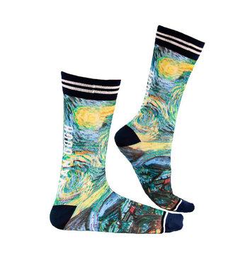 Sock My Feet Sock My Van Gogh, SMFM127 1000