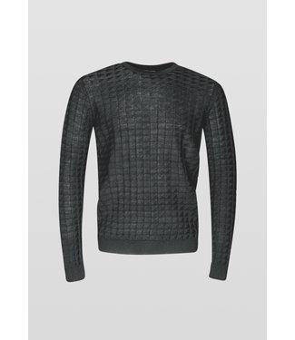 Antony Morato Structuur pullover zwart