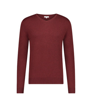McGregor Trui Bordeaux rood