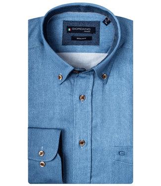 Giordano Overhemd Blauw