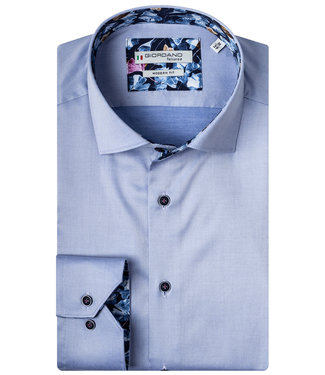 Giordano Overhemd Lichtblauw