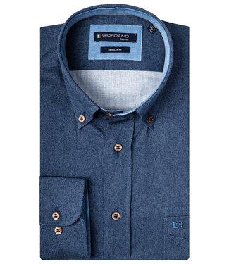 Giordano Overhemd donkerblauw