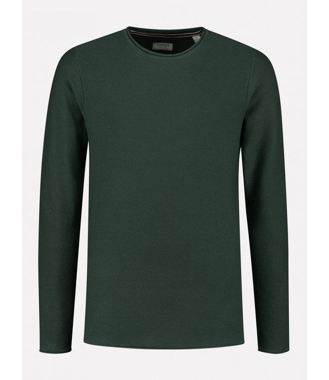 Dstrezzed sweater donkergroen