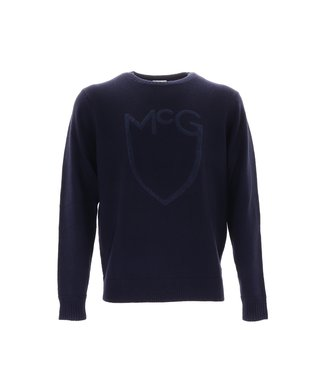 McGregor Shield Logo Sweater Navy, MM110800101