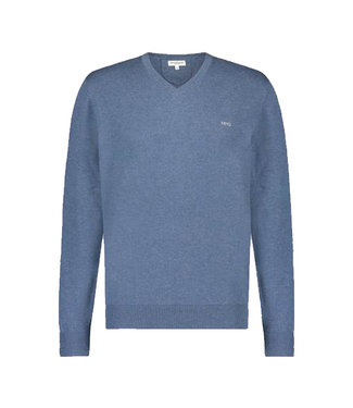 McGregor V-Neck Sweater Blauw , MM110800090