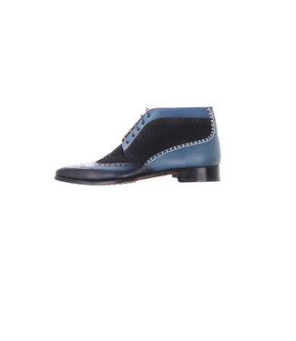 Melik Shoes Shilka Blauw Schoen, 108B073-W02