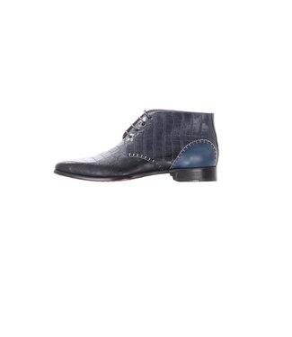 Melik Shoes Argun Blauw Schoen, 108B077-W03