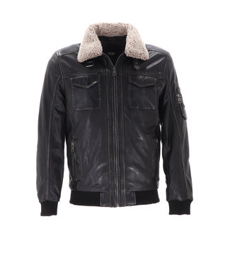 DNR Leather Jacket  Bruin