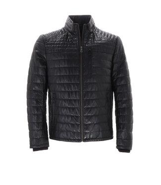 DNR Leather Jacket Black