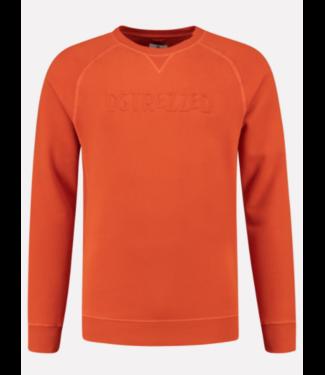 Dstrezzed Logo sweater oranje