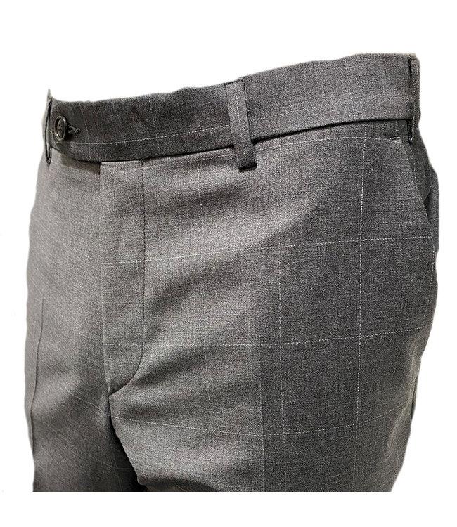 Digel Pantalon Per Ruit Grijs