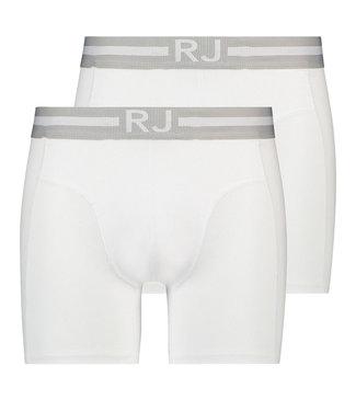 RJ Bodywear Boxershort 2-Pack Breda White