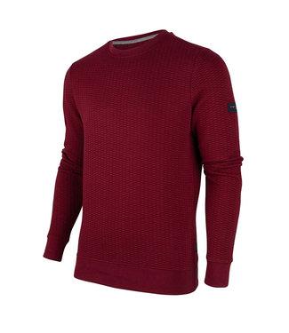 Cavallaro Napoli Nero Sweater Donkerrood