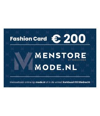 Gift Cards Fashion Card  € 200