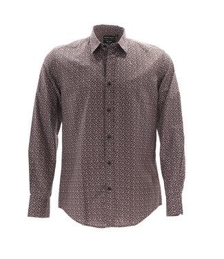 Antony Morato Shirt Milano Bruin