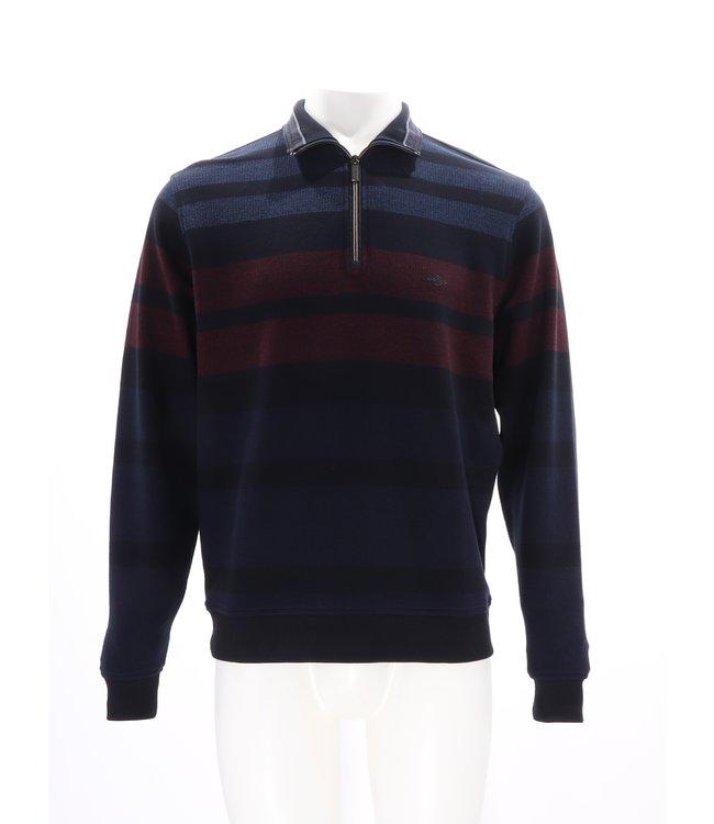 Baileys Baileys  Sweater Rits Blauw Rood, 203104 567