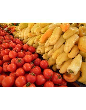 Gelber Gemüse-Paprika ´Hunor´